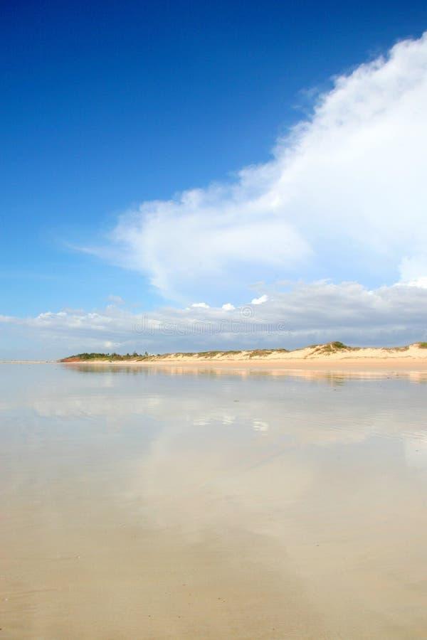 kabel för Australien strandbroome fotografering för bildbyråer
