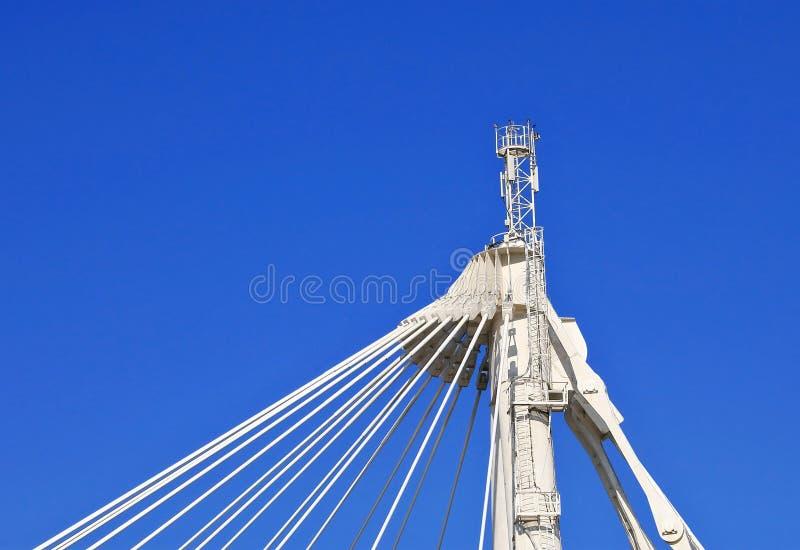 Kabel-gebliebener Binder lizenzfreie stockfotografie