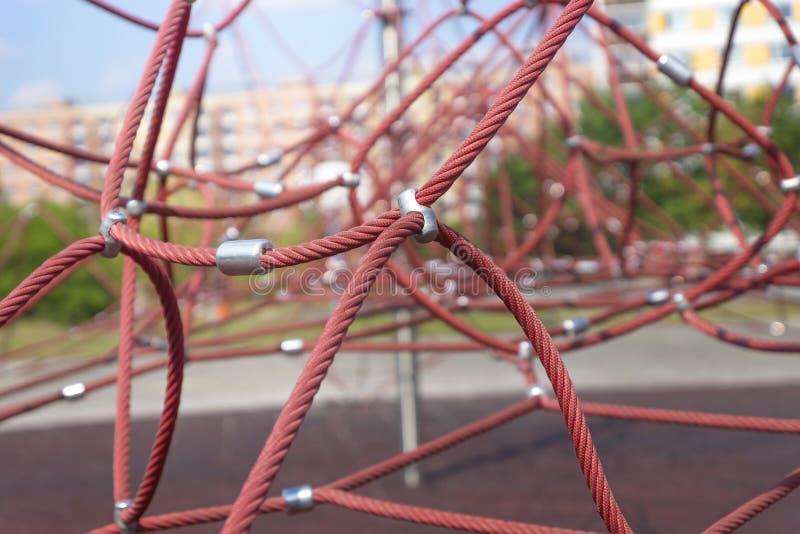 Kabel klimrek royalty-vrije stock foto