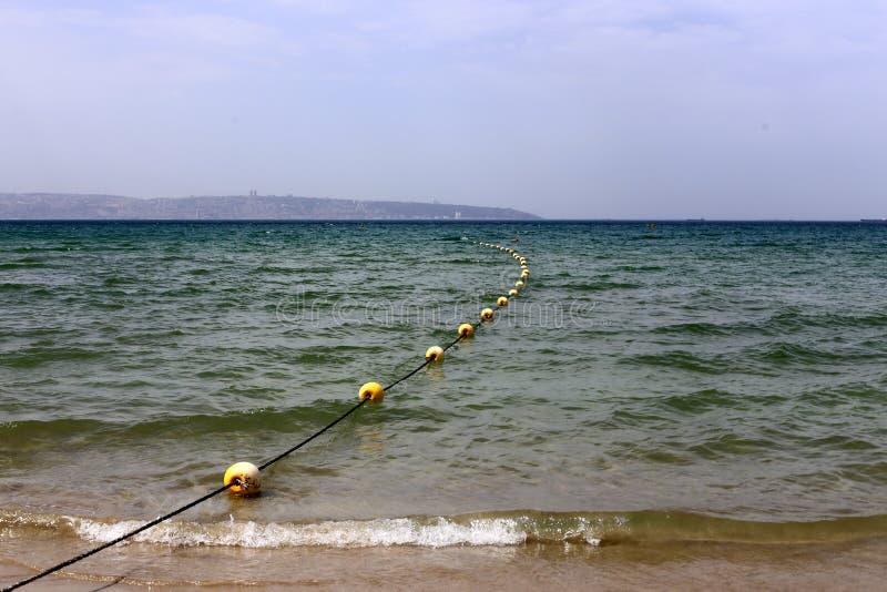 Kabel op de kusten van het Middellandse-Zeegebied stock foto
