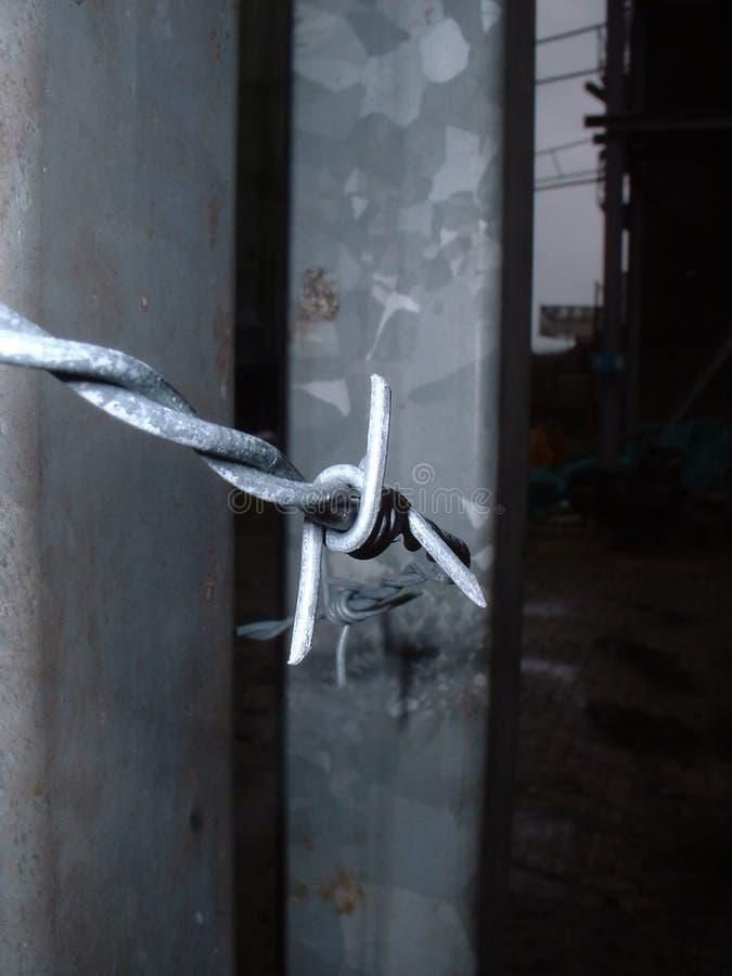 Kabel Się Barb Blisko Zdjęcie Stock