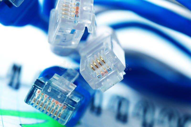 kabel sieci zdjęcie royalty free