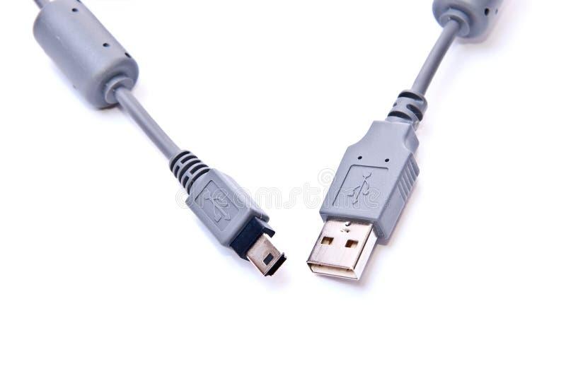 Kabel USB stock afbeeldingen