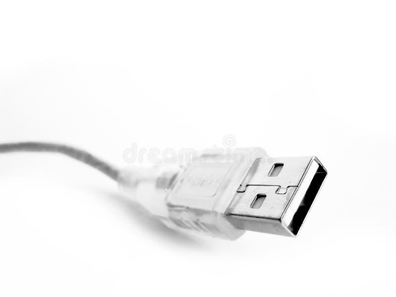 Kabel USB royalty-vrije stock foto