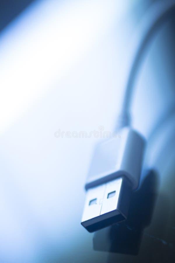 Kabel IT USBs 3 PC-Gedächtnisspeicherstecker lizenzfreie stockfotos