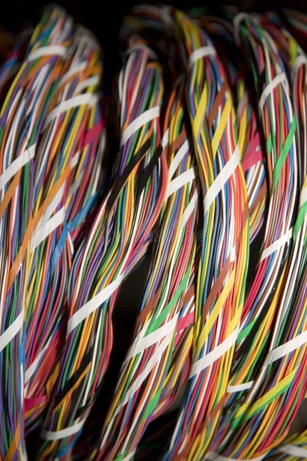 Kabel van de telefoon 1 royalty-vrije stock foto's