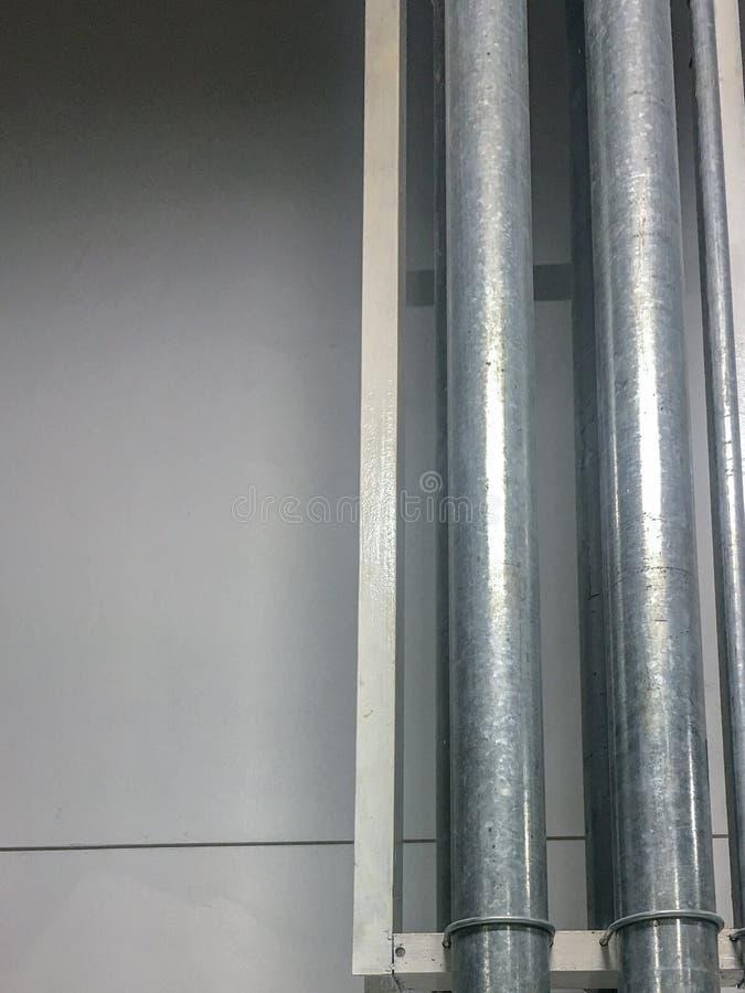 Kabel w metal drymbie zdjęcie stock