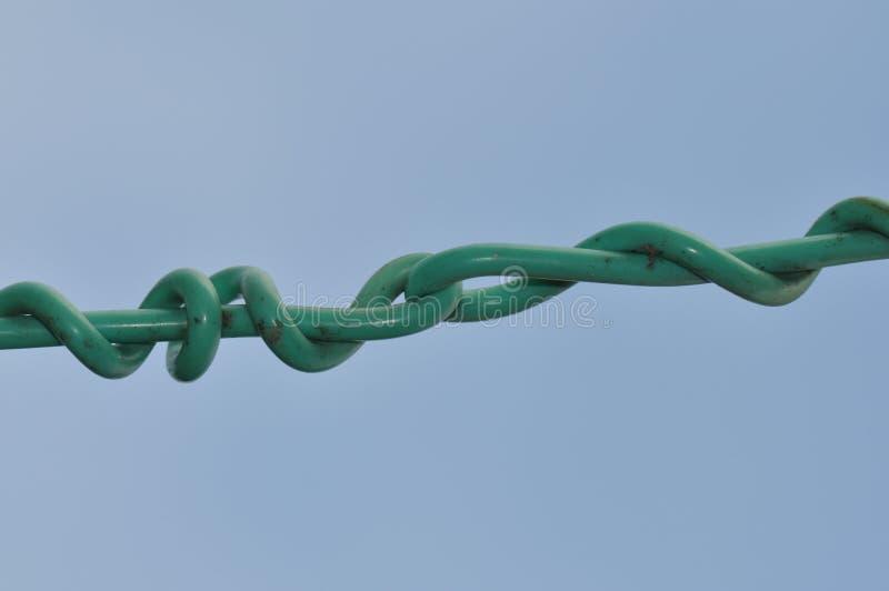 Kabel z kępką zdjęcie royalty free