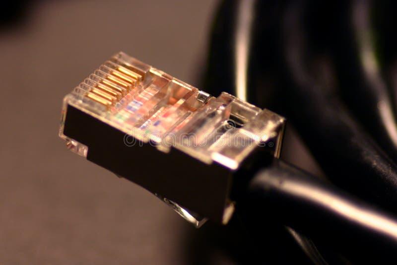 Download Kabelnät fotografering för bildbyråer. Bild av port, breda - 288305