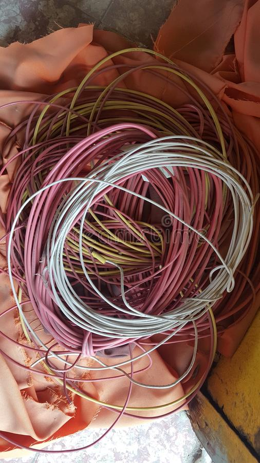 kabels royalty-vrije stock fotografie
