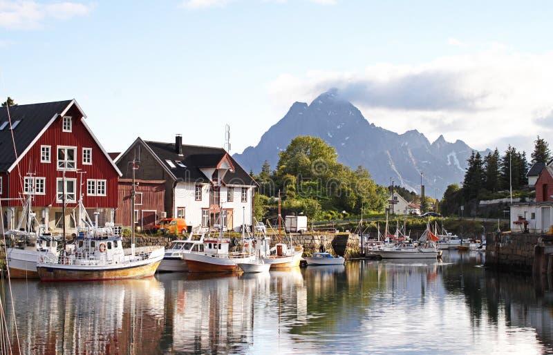 KabelvÃ¥g, острова Lofoten - Норвегия стоковые изображения