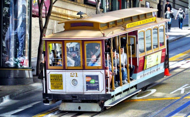 Kabelwagen San Francisco royalty-vrije stock fotografie