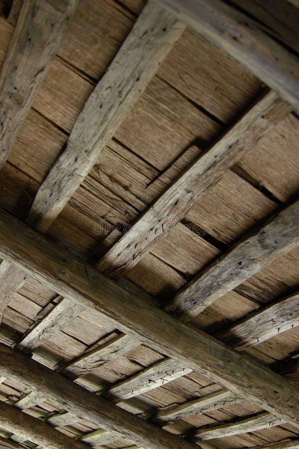 Kabine-Dach-Innenraum stockbild
