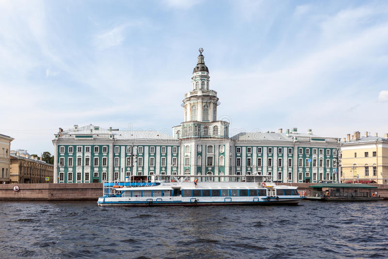 Kabinett av kuriositeter St Petersburg arkivfoton