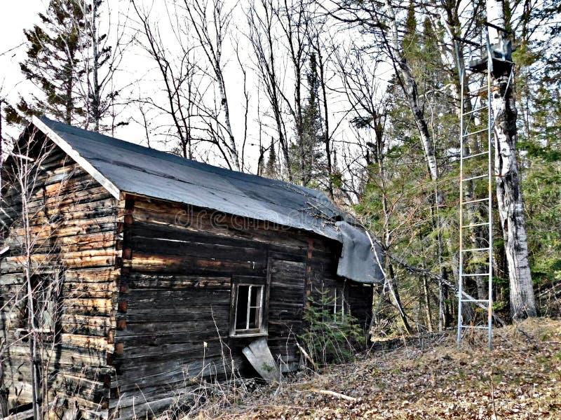 kabinowi starzy drewna zdjęcia stock