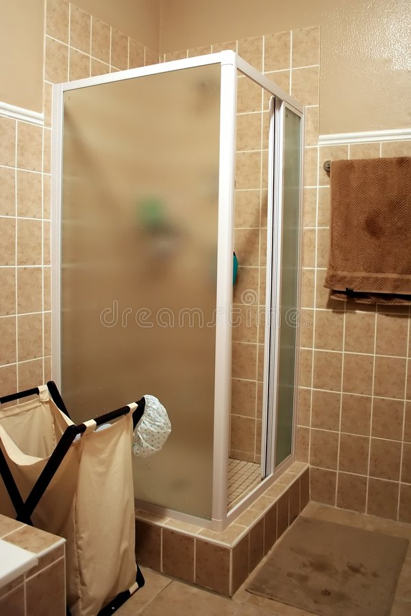 kabiny nowoczesnej prysznic obrazy royalty free