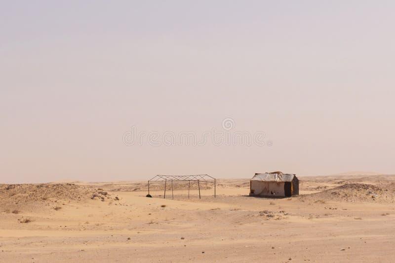 Kabiny w Mauretania obraz stock