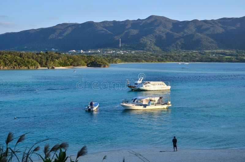 Kabira-Bucht, tropische Lagune lizenzfreies stockfoto