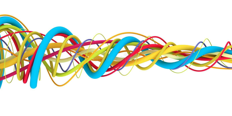 kable kolor ilustracji