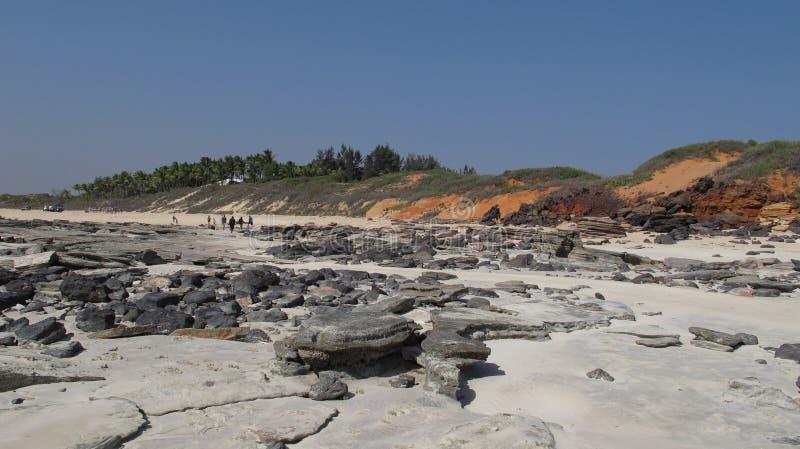 Kablowa plaża, Broome, zachodnia australia fotografia royalty free