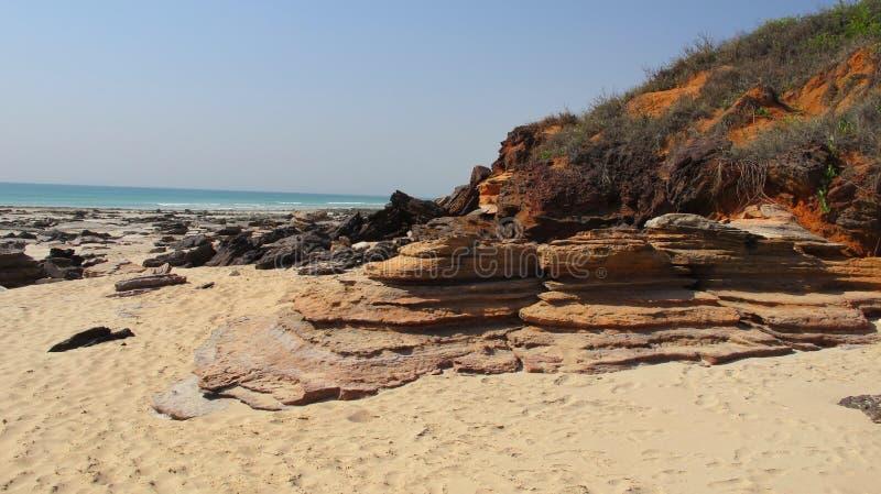Kablowa plaża, Broome, zachodnia australia obrazy royalty free