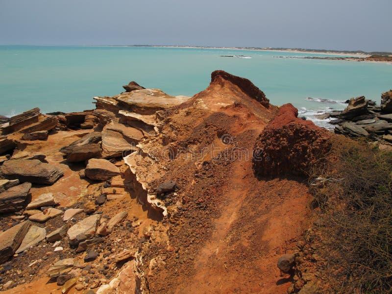 Kablowa plaża, Broome, zachodnia australia obraz royalty free