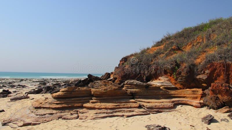 Kablowa plaża, Broome, zachodnia australia fotografia stock