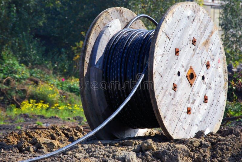 kablowa telekomunikacja fotografia stock