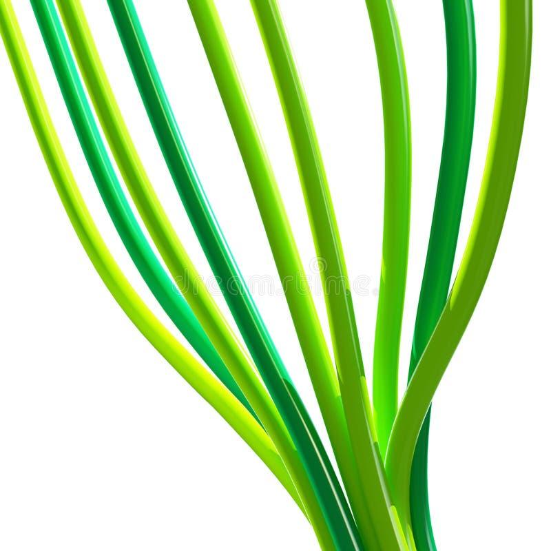 kablowa zieleń obrazy royalty free