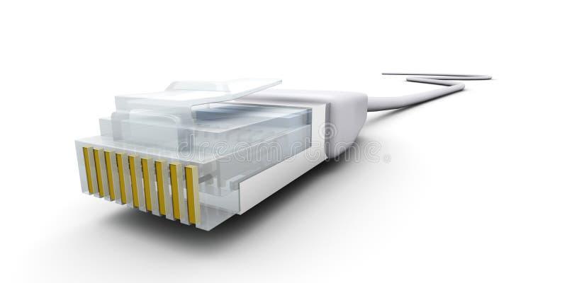kablowy lan ilustracja wektor