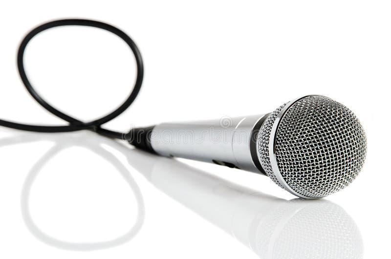 kablowy mikrofon zdjęcia stock