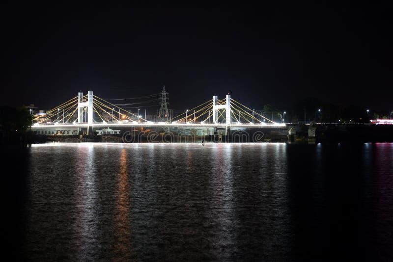 Kablowy most, Bhopal obraz stock