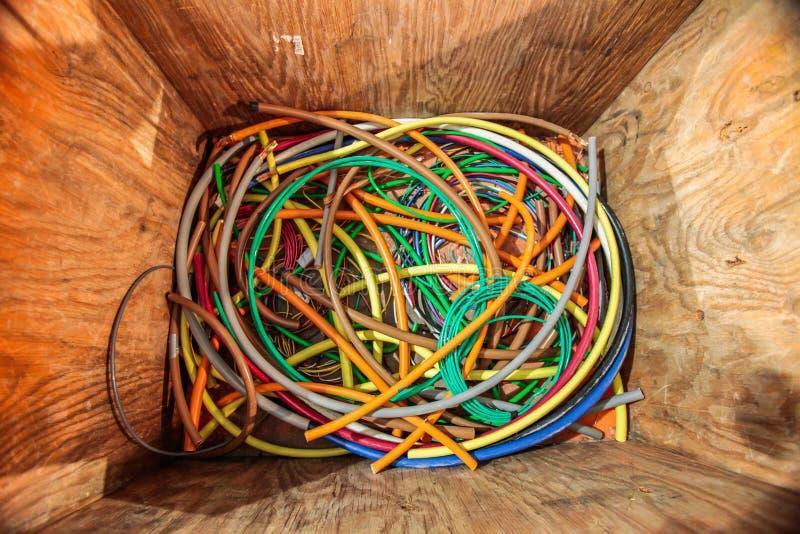 Kablowy pudełko zdjęcia stock