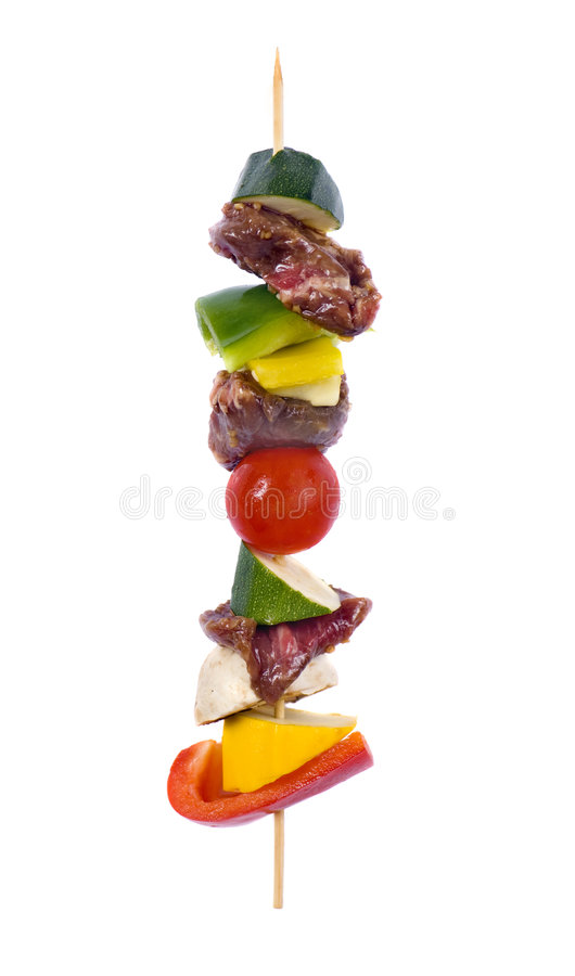 Download Kabobs stock image. Image of dinner, tomato, zucchini - 6465707
