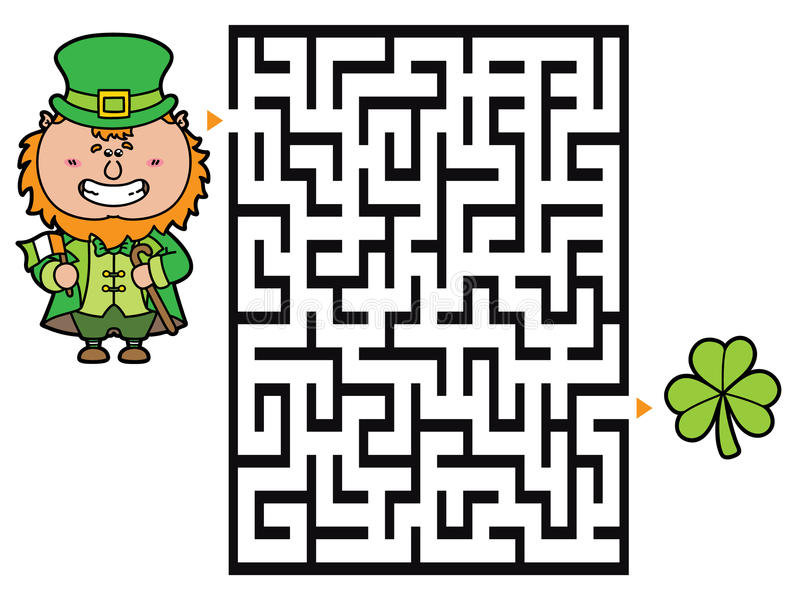 Kabouterspel stock illustratie