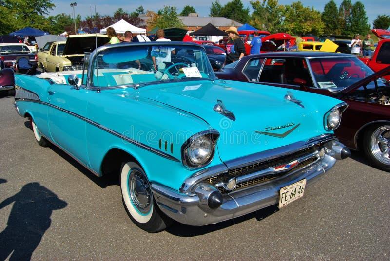 Download Kabriolett 1957 Chevrolet-Bel Air Redaktionelles Bild - Bild von antike, maschine: 27730705