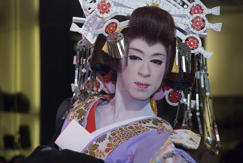 Download Kabuki performer editorial stock image. Image of japanese - 18797294