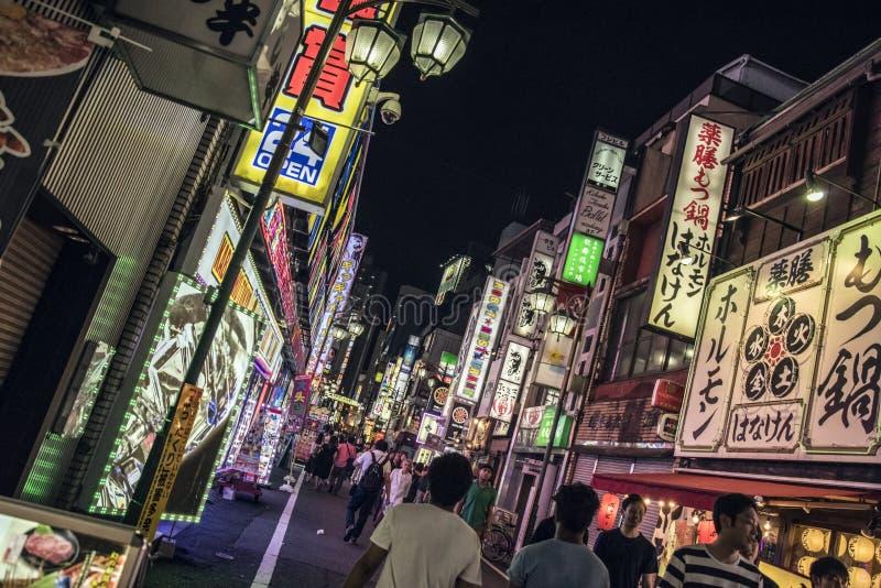 Kabukicho光,东京,日本 库存图片
