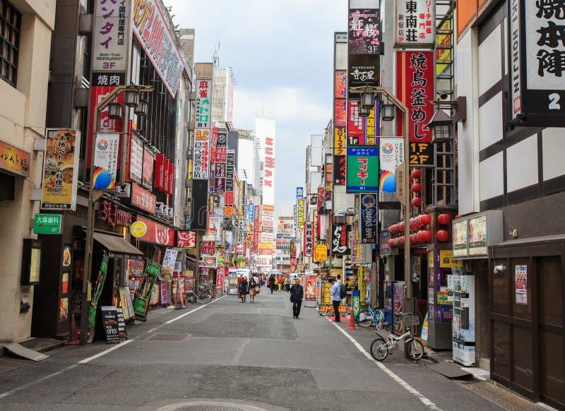 Kabukicho, shinjuku, Tokyo image libre de droits