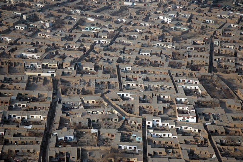 Kabul-Häuser stockfotos