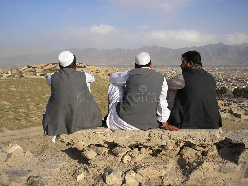 Kabul-Männer lizenzfreie stockfotografie