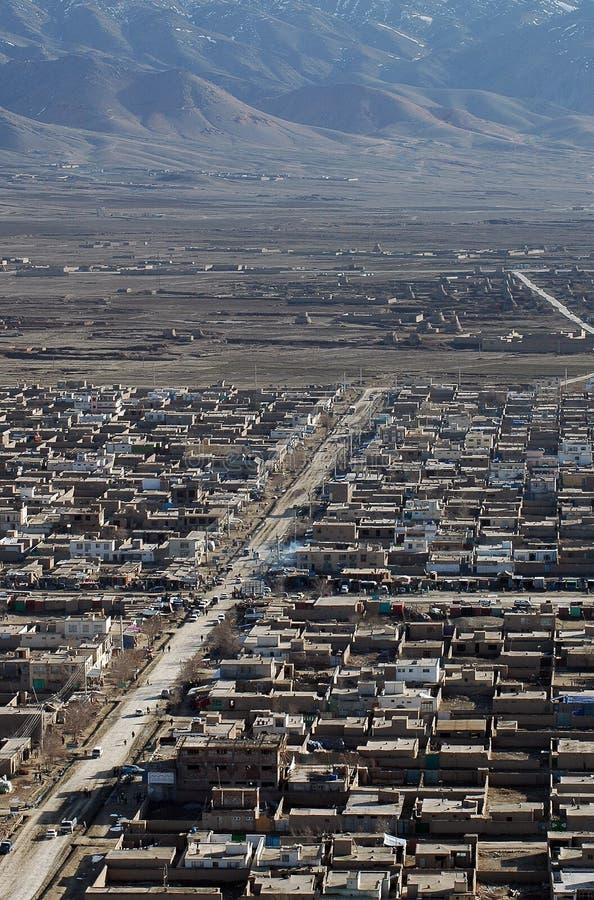 Kabul-Straße stockbild