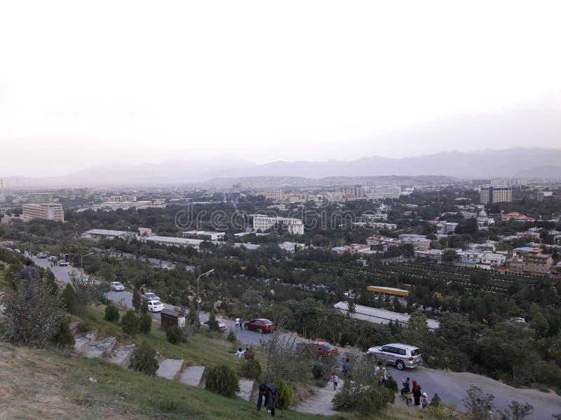 Kabul WAZIR AKBAR KHAN TAPA lizenzfreie stockfotos