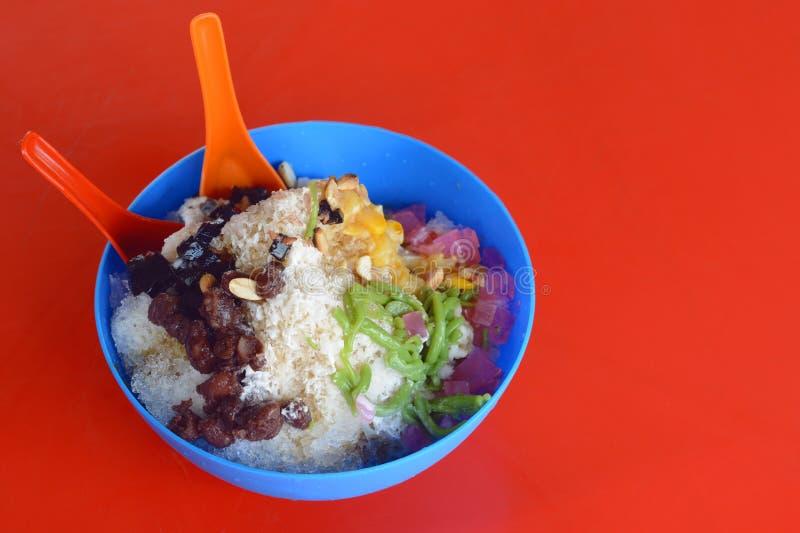 Kacang kacang или ais льда & x28; ABC& x29; в языке Malay стоковые изображения