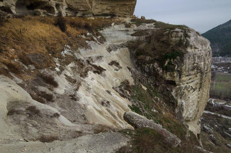 Kachi-Kalion в Крыме стоковые фотографии rf