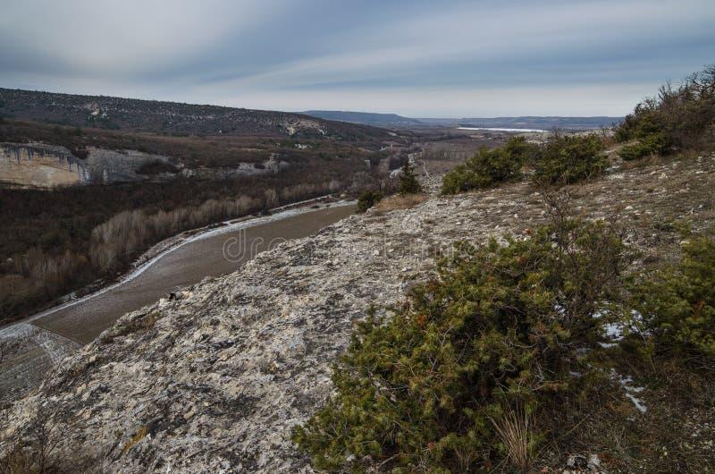 Kachi-Kalion в Крыме стоковое фото rf