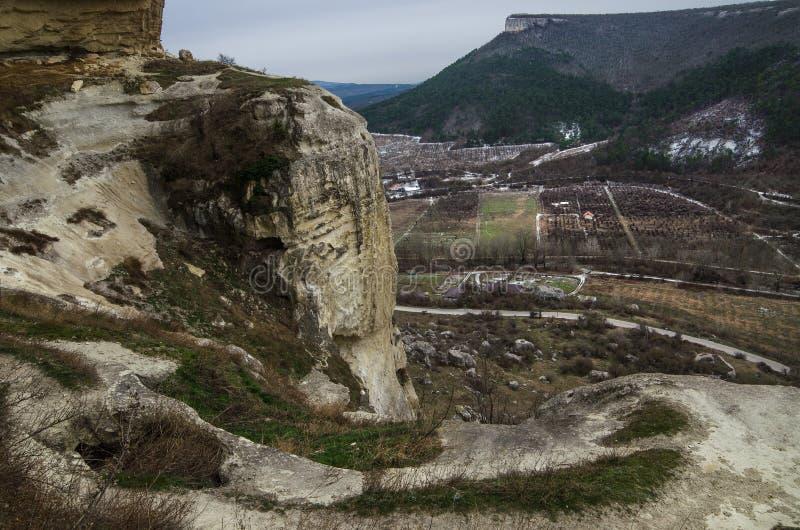 Kachi-Kalion in Crimea royalty free stock image