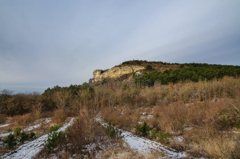 Kachi-Kalion in Crimea stock images