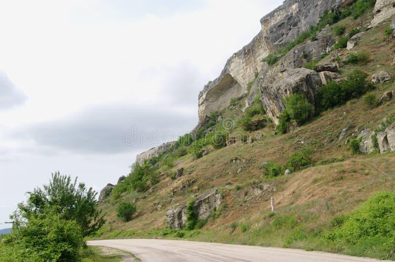 Kachi-Kalion klippor, Krim royaltyfria bilder