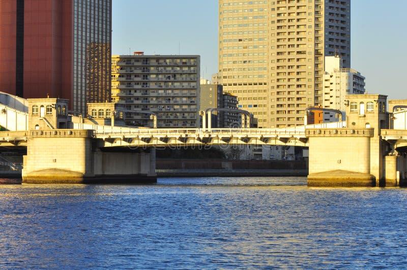Kachidoki Bridge Editorial Image